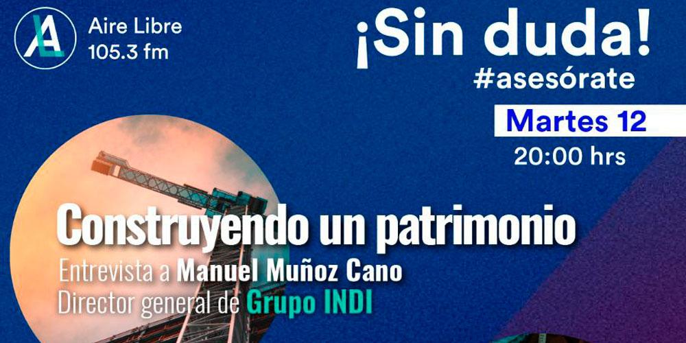 Entrevista con el Ingeniero Manuel Muñoz Cano Aire Libre 105.3FM