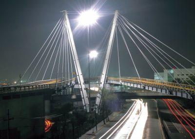 Puente atirantado aeropuerto, CDMX
